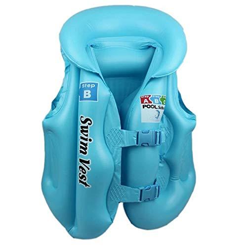 laonBonnie Modisches Design Kinder Kinder aufblasbare Pool Float schwimmweste Weste Bunte Baby Kinder Schwimmen Treiben sicherheitswesten -