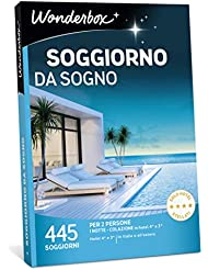 WONDERBOX Cofanetto Regalo per Coppia - Soggiorno da Sogno - 445 SOGGIORNI per 2 Persone in alberghi 4* e 3* in Italia e all'estero