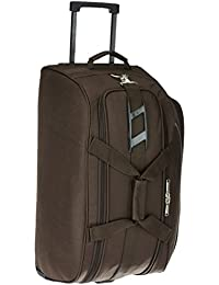 Pronto Turin Polyester 60 cms Coffee Travel Duffle (6549 - CF)
