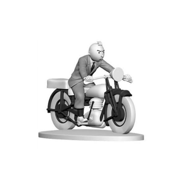 Figura de colección Tintín en moto Hors-Série N°8 42175 (2015) 1