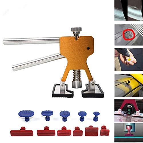 LJTJX PDR Tool Unlackiertes Auto Dent Repair Tool Dent Removal Dent Puller Registerkarte Dent Lifter PDR Tool Kit