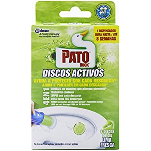 Pato Discos Activos, Lima - 36 ml
