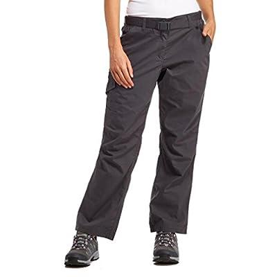 Brasher Frauen-Walking-Hosen, Grau, 46