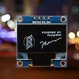 Portal Cool Gelb Azul: 0,96 Zoll I2C Iic OLED-Serie LCD 12 x 64 für Arduino Anzeige Himbeere W
