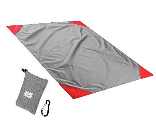 holzhaus-pocket-picnic-blanket-waterproof-beach-picnic-mat-for-outdoor-barbecue-travel-camping-silve