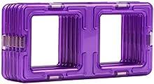 Magformers - 2042599 - Construcción Juego - Rectángulo - 6 Habitaciones