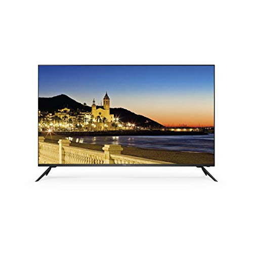 41lqsOjcrDL - Televisor Led 50 Pulgadas Ultra HD 4K Smart, TD Systems K50DLX9US. Resolución 3840 x 2160, HDR10, 3X HDMI, VGA, 2X USB, Smart TV.
