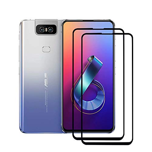 SUP ASUS ZenFone 6 2019 ZS630KL - High quality tempered glass protective film, with rounded edges, shatterproof, shockproof, anti-scratch, oil-repellent