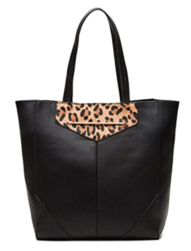 Etam , Damen Tote-Tasche schwarz Schwarz / Braun (Wheeled Backpack Kipling)