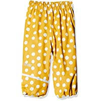CareTec 550179 Rain Trouser, Mehrfarbig (Mineral Yellow 372), 9-12 Months
