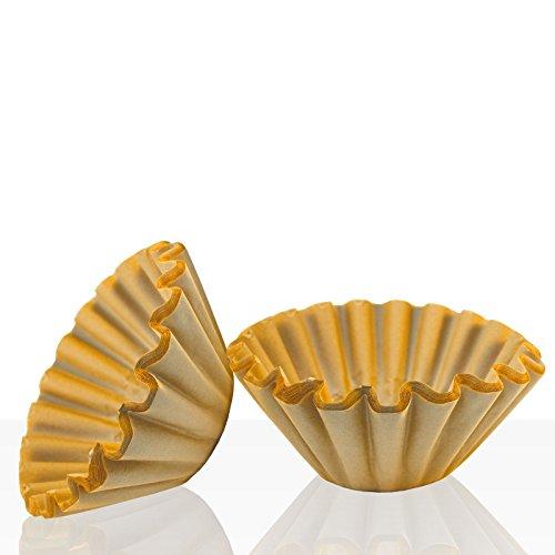 Korbfilter für Bonamat, Bartscher, Animo und Melitta, 250 Stk braun, Kaffeefilter 85/245mm,...