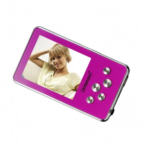 Intenso Video Driver MP3-/Video-Player 4 GB (5,1 cm (2 Zoll) Display) rosa