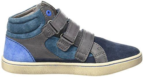 Kickers Jungen Lynux Sneaker Blau (Marineblau / Blau)