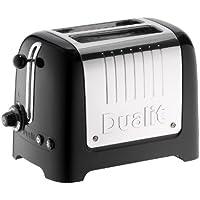 Dualit 26205 2-Slot Lite Toaster, 1.1 kW - Black