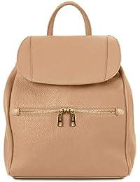 994e2e262c5b3 Tuscany Leather TL Bag Lederrucksack für Damen aus weichem Leder - TL141697