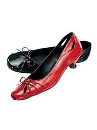 haupteingang Ballerina schwarz, Ballerine donna Nero