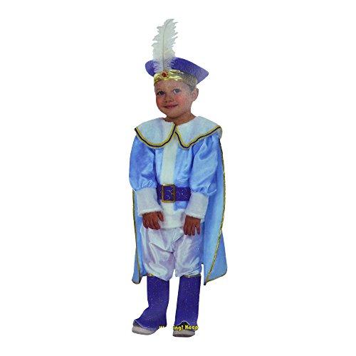 Junge Prince Charming Dressing Up Kostüm (7 bis 10 (Prince Charming Jungen Kostüm)