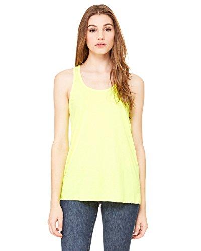 Bella - Leichtes Tank Top Neon Yellow
