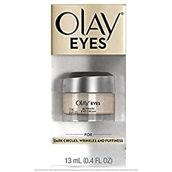 Olay Eyes Ultimate Eye Cream for Wrinkles, Puffy Eyes and Under Eye Dark Circles, 0.4 Fl Oz Packaging may Vary
