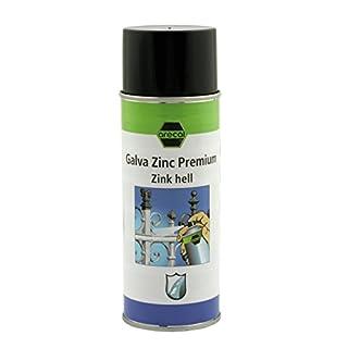 Zinkspray mit Eignungsprüfung - arecal GALVA ZINC PREMIUM - 400 ml - ist ein Zink- Aluminium-Kombinations-Spray mit hervorragender Eignung für die Ausbesserung feuerverzinkter Bauteile.
