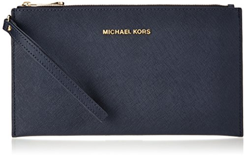 Michael Kors Damen Jet Set Travel Tornistertasche, Blau (Admiral), 1.25x14x24.9 cm