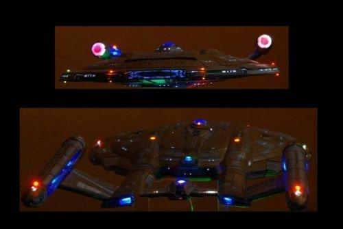 USS NX-01 (02) EFFECT LED LIGHTING KIT 1:350 Star trek led enterprise