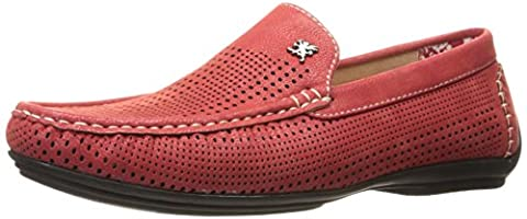 Stacy Adams Pippin Hommes US 10.5 Rouge Mocassin