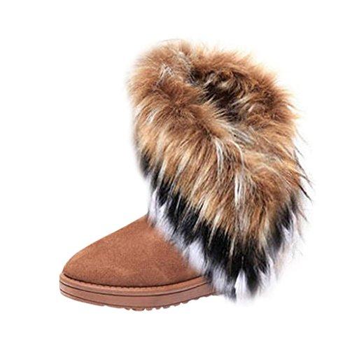 Hee Grand Damen Schneestiefel chinesisch 38 (Indianer Stiefel)