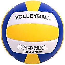 YANYODO Ballon de Volley,Ballon de Beach Volley Soft Touch pour Adultes et Enfants Taille Officielle 5