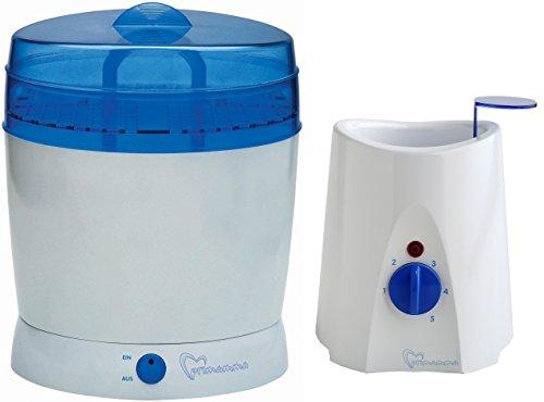 primamma Technische Geräte Set - Vaporisator und Babykoster + Geschenk -