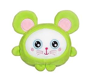 Gipsy squishimals ratón Peluche, 70844, Verde, 32cm
