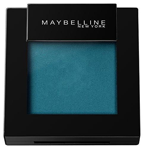 Maybelline Color Sensational Mono Lidschatten Nr. 95 Pure Teal, aufregende Farben von matt bis glänzend, praktisch im Mono-Format, für alle Hauttypen, 2 g