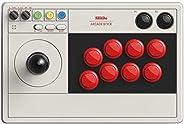 8Bitdo Arcade Fighting Stick, Arcade di Gioco Joystick Controller con Funzioni Turbo e Macro per Nintendo Swit
