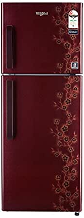Whirlpool 245 L 2 Star Frost-Free Double Door Refrigerator (NEO FR258 CLS PLUS WINE ADONIS(2S), Wine Adonis)