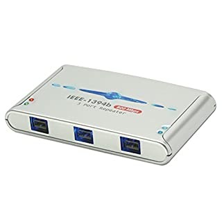 LINDY 3 Port FireWire 800 Repeater Hub