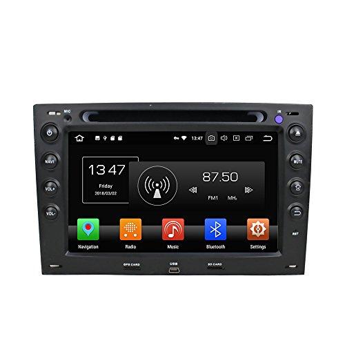 Android 8.0 Octa Core coche reproductor de DVD GPS navegación Multimedia estéreo...