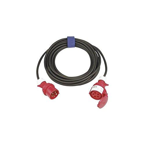 Kayser - Câble rallonge cEE h07RN-f iP44 SW L.25 m 5 x 5 pôles 16 A 400 V 6 mm2