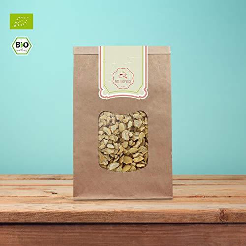 süssundclever.de® | Bio Cashewbruch | Cashewkerne | Cashewstücke | 1kg | plastikfrei und ökologisch-nachhaltig abgepackt | Cashew-Stücke (1000.00)