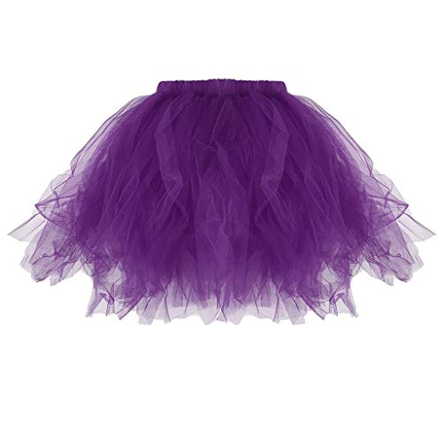 Vivianu Tutu-Rock für Ballett, kurzes Set für Mutter und Tochter, Prinzessinnen-Kostüm aus Schwamm, gefaltet A 4 (Frau Alte Baby-halloween-kostüm)