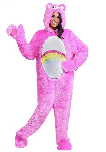 Care Bears Adult Plus Size Classic Cheer Bear Fancy Dress Costume 2X