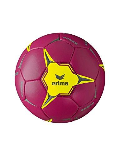 Erima Kinder G 9 2.0 Handball, Berry/Gelb, 0