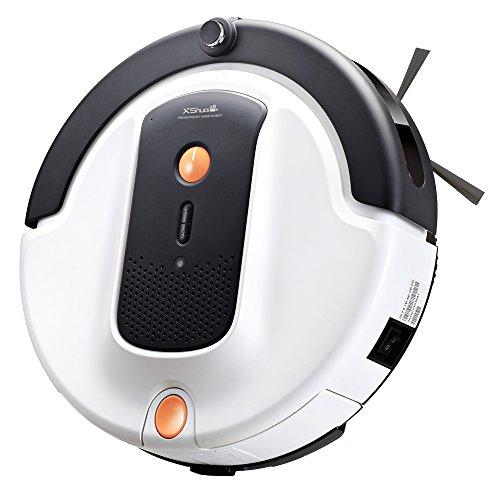 Haier Xshuai Staubsaugerroboter (26 Watt Saugmotor/90-120 Min Laufzeit/0.35L Staubbehälter) mit APP Reinigung nach Ihrem Zeitplan Saugroboter optimiert für Tierhaare & mehr