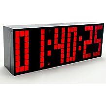 Yosoo Alarma Big Time Relojes LED Digital Reloj Grande LED Alarma Tiempo Relojes Digital Cuenta Atrás