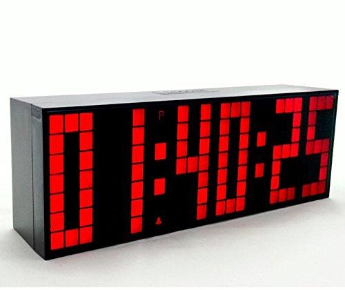 Yosoo Alarma Big Time Relojes LED Digital Reloj Grande