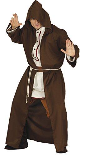 Guirca- Disfraz adulto maestro espiritual, Talla 52-54 (84417.0)