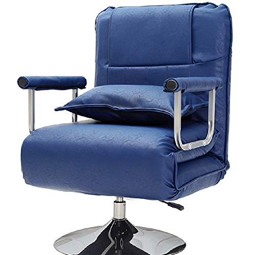 Axdwfd Liegestuhl Ergonomischer Lehnstuhl, Office Lounge Chair mit extra weicher Kopfstütze (Farbe...