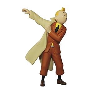 Moulinsart Figura de colección Tintín poniéndose la Gabardina 8,5cm 42473 (2011) 2
