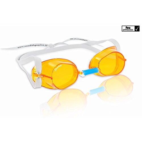 Malmsten gafas suecas estándar en 6 colores - senior, naranja