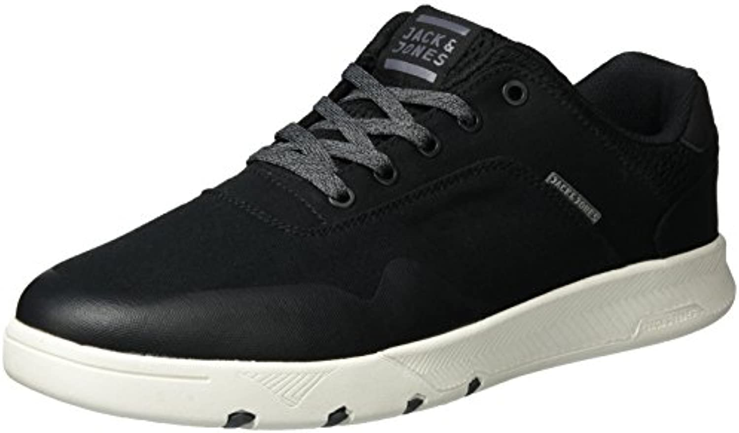 JACK  JONES Herren Jfwhoughton Textile Anthracite Low Top