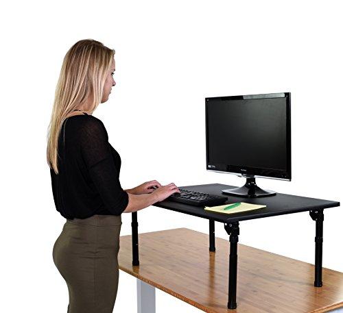 Höhenverstellbarer Schreibtisch (Schreibtisch Länge: 80cm - Klappbar)